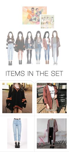 """(SPICA) on Weekly Idol"" by official-spxca ❤ liked on Polyvore featuring art"
