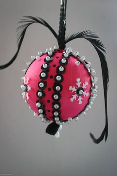 Handmade ornament found on Etsy..Love Love!