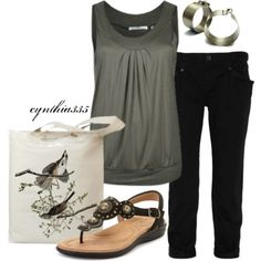 Summer Outfit - Polyvore