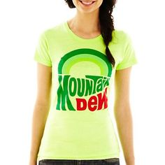 Mountain Dew Graphic Tee - jcpenney~ I want this shirt!