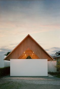 Two Story Triangular Addition Built for Quiet and Relaxation in architecture Category