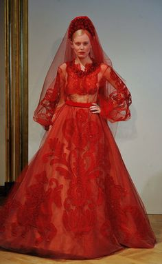 What Cersei would wear if forced to marry again, Yulia Yanina