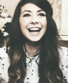 zoella. british, gorgeous, and hilarious.