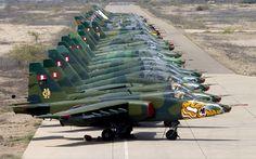 Peruvian Air Force Sukhoi Su-25s BFD