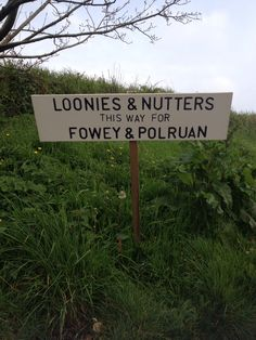 This sign has mysteriously  appeared at the top of our road. Cheeky Monkeys !