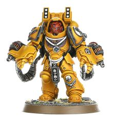 Imperial Fists Supremacy Force | Games Workshop Webstore Warhammer Models, Warhammer Fantasy, Warhammer 40000, Space Marine Dreadnought, Miniaturas Warhammer 40k, Sf Movies, Starship Troopers, Imperial Fist, Sci Fi Models