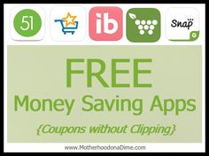 5 FREE Money Saving Apps: TONS of New Coupons Available! (No Clipping Necessary)