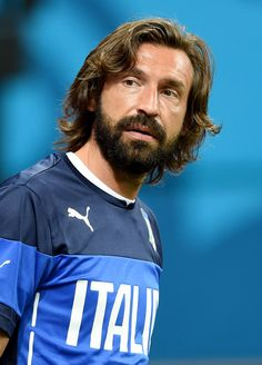 Andrea Pirlo Photos: Italy Training & Press Conference - 2014 FIFA World Cup Brazil