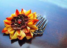 African Treasure Flower: red version by hanatsukuri.deviantart.com on @deviantART