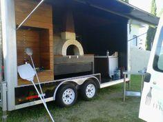 ItaliaForni Wood Fired Oven on a Foodtruck!
