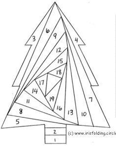 iris folding - Page 6 Iris Folding Templates, Iris Paper Folding, Iris Folding Pattern, Patchwork Quilting, Paper Pieced Quilt Patterns, Paper Cards, Diy Paper, Pliage D'iris, Foundation Paper Piecing