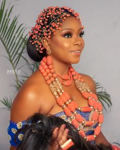 Nigerian Wedding Dresses Traditional, Traditional Wedding Attire, African Wedding Attire, African Weddings, Igbo Bride, Cute Birthday Outfits, Igbo Wedding, African Lace Styles, Nigerian Bride