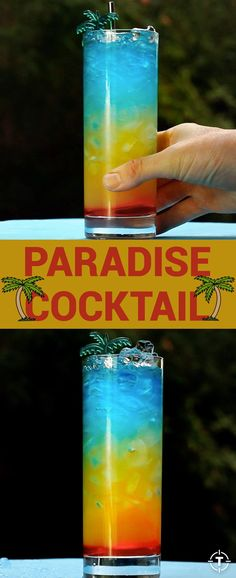 This drink is para-para-paradise.