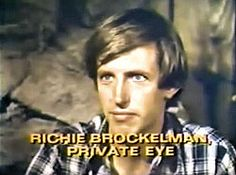 Richie Brockelman, Private Eye