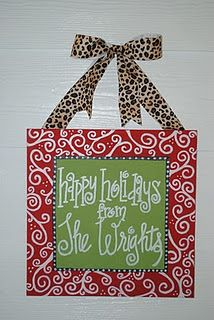 holiday canvas