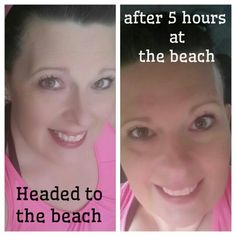 Younique make up stays put!!! Even on beach days! Order yours here: www.miraculousmascara.net
