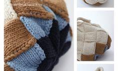 스웨덴 자작~ 1번째 블록 시작하기 : 네이버 블로그 Knitted Bags, Knitting Projects, Knit Crochet, Diy And Crafts, Have Fun, My Love, Fabric, Accessories, Knitting Bags