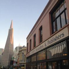 Classic shot on the edge of San Francisco's North Beach