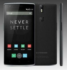 The OnePlus One, a powerful smartphone with changeable covers.