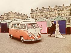 Vintage wedding day - Peanut at his best with our happy couple x