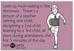 Why teachers are basically superheroes!