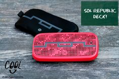 In celebration of all the deserving students who are heading back-to-school this fall and need a stellar musical pick-me-up, , SOL REPUBLIC would like to give one lucky reader a DECK!