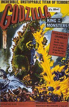 Godzilla - Raymond Burr.