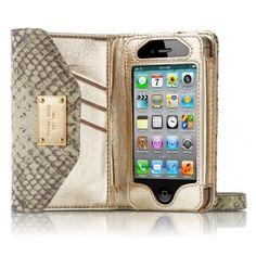 Bolsa Carteira (Clutch) do Michael Kors para iPhone 4