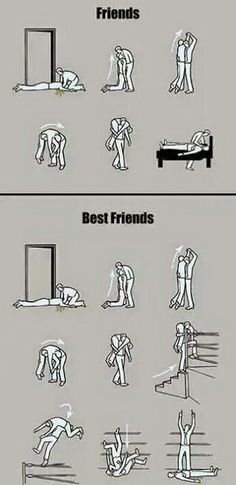 That's what friends are for.