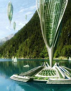 Ecologie : 4 projets futuristes pour répondre au réchauffement climatique | Actualités Seloger