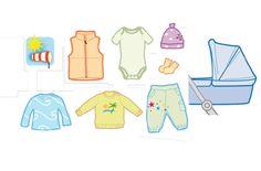 Baby 03/12 Dress-Code fürs Baby  Baby richtig anziehen, 4 Tipps zur Bekleidung eines Babies bei verschiedenen Wetterlagen
