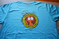 camiseta mundos turquesa