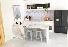 Concrete floor from @mostlyminiature Artwork @theprintablestudio