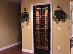 Wine cellar/closet...