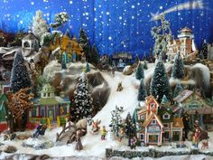 One of the best Lemax miniature displays to be found which depicts a custom Christmas village. Description from wn.com. I searched for this on bing.com/images