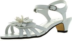 Jumping Jacks Marlene Dress Sandal (Little Kid/Big Kid) >> To view further, visit now : Girls sandals