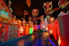 **it's a small world Holiday at Disneyland by Disney-1955 on Flickr.