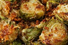 Here's a video showing you how to make this amazing side dish: | You Know You Want To Make These Garlic Roasted Brussel Sprouts