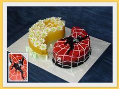 Spidermann cake