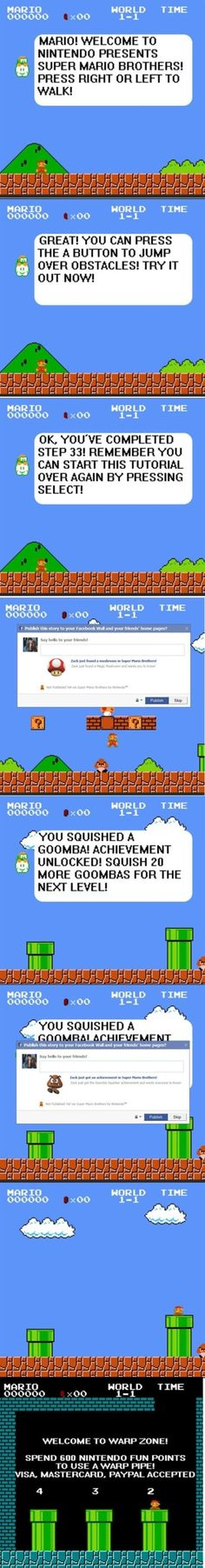 If Mario was created today