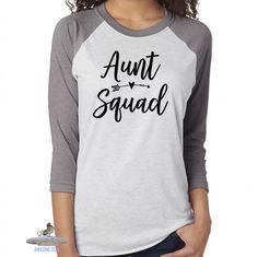 Aunt Squad Shirt. Best Aunt Ever. Aunt Life Shirt. Sister. Friend. Aunt. Gift For Aunt. Blessed Aunt. Aunt Squad.
