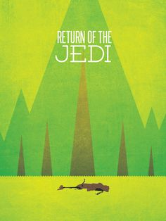 All 3 Colorful Star Wars Prints - A New hope, The Empire Strikes Back, Return of the Jedi. $49.99, via Etsy.