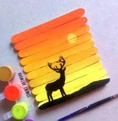 Painting on ICECREAM sticks