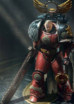 Gabriel Seth, chapter master of the Flesh Tearers