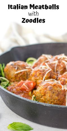 italian-meatballs-with-zoodles-low-carb-meatballs-zucchini-noodles-paleo-meatballs-gluten-free-meatballs-gluten-free-family-dinner-cheesy-meatba/ SULTANGAZI SEARCH Italian Meatballs, Cheesy Meatballs, Side Recipes, Pasta Recipes, Spiralizer Recipes, Easy Family Meals, Easy Meals, Gluten Free Meatballs, Best Italian Recipes