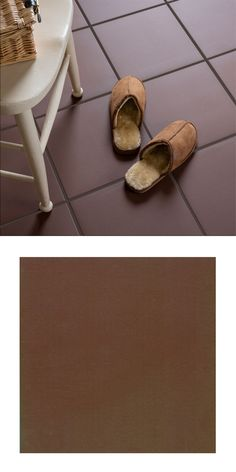 A traditional smooth brown large format, clay quarry tile, in a natural finish. The perfect way to give your floors a hard wearing, yet earthy, rustic style. Quarry Tiles, Stone Quarry, Hotel Foyer, Tiles Price, Red Tiles, Kitchen Floors, Adhesive Tiles, Tool Sheds, Wall And Floor Tiles