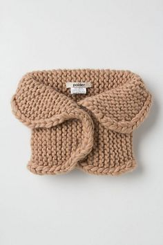 Tawny Knit Collar - Anthropologie