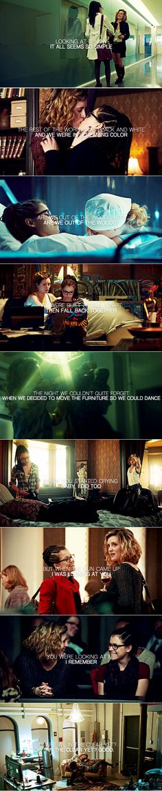 Cosima + Delphine: Are we in the clear yet? Are we out of the woods? #orphanblack