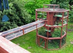 How To Create A Safe Outdoor Cat Enclosure Or Catio For your Kitty - Page 4 of 4 - Get Catnip Daily Outdoor Cat Playpen, Outdoor Cats, Outdoor Areas, Outdoor Cat Tunnel, Cage Chat, Cat House Plans, Crazy Home, Outdoor Cat Enclosure, Cat Run