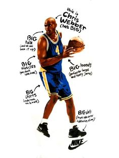 c07e83647083b Chris Webber By Nike Basketball Posters